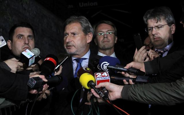 Negotiations between political leaders in Skopje fail
