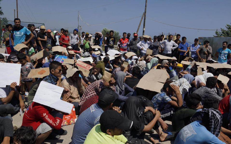 Record number of refugee influx in the last 24 hours