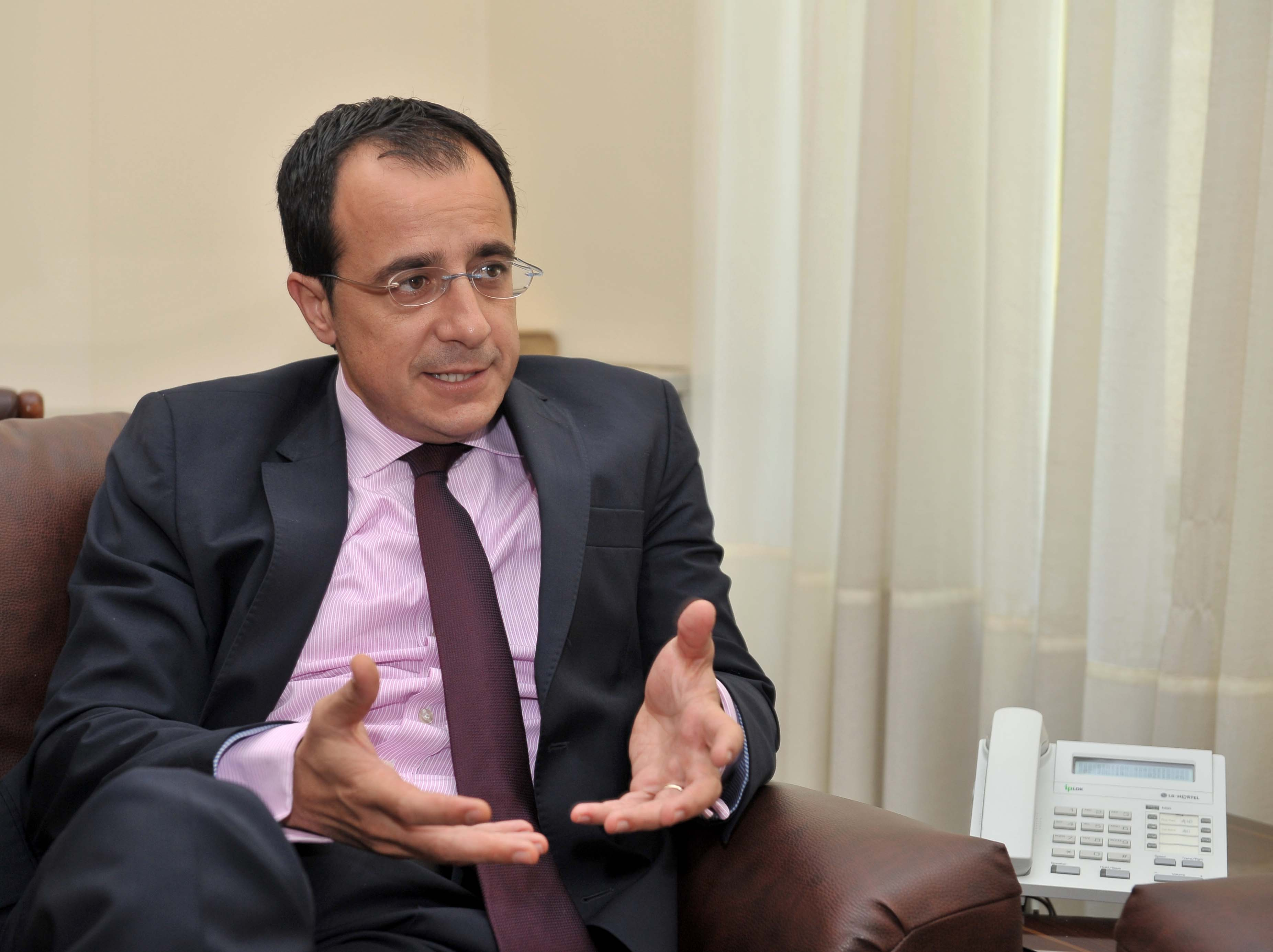 """Christodoulides: """"It's up to Turkey to proceed with its accession process"""""""