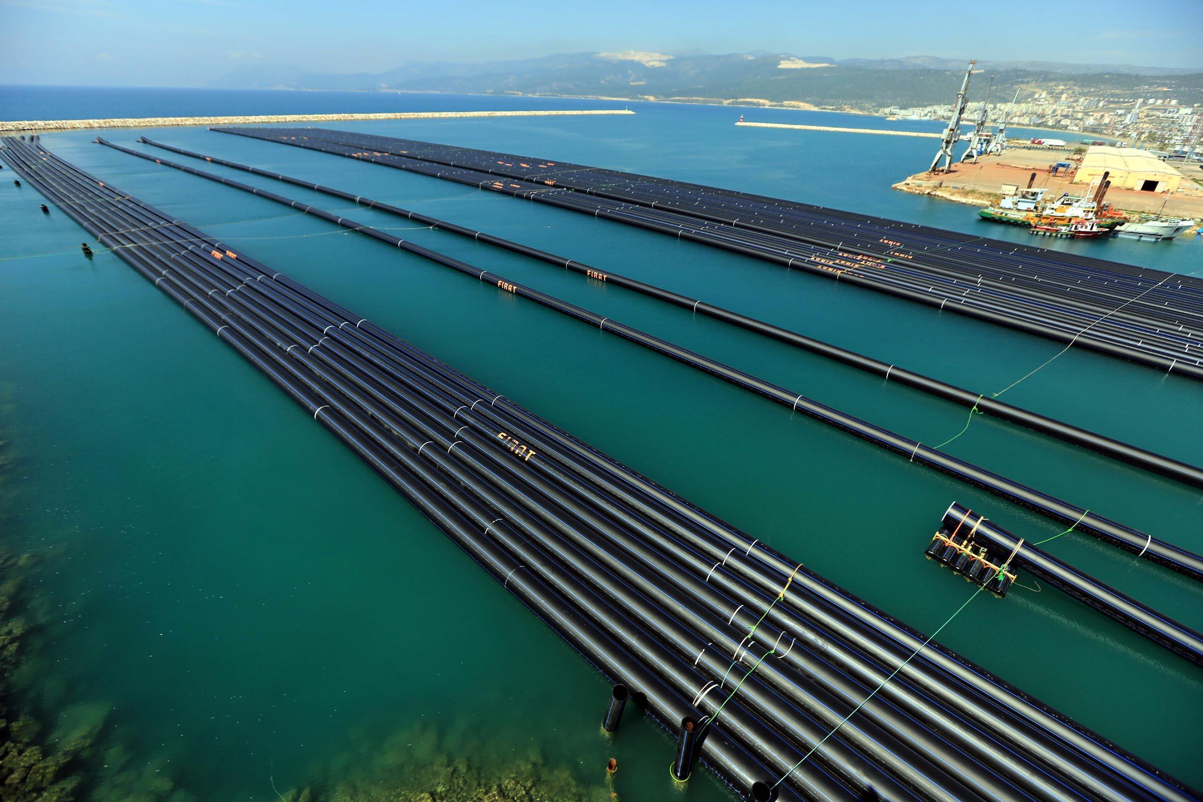 Erdogan to inaugurate the submarine water pipeline Turkey – Northern Cyprus