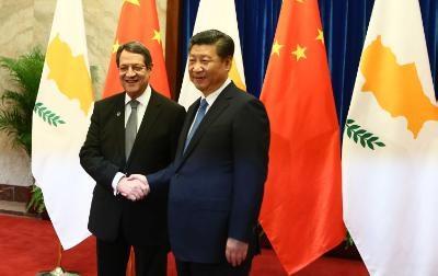 Nicos Anastasiades meets Xi Jinping