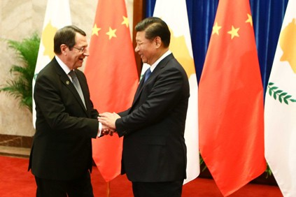 President of China expresses support to Cyprus solution