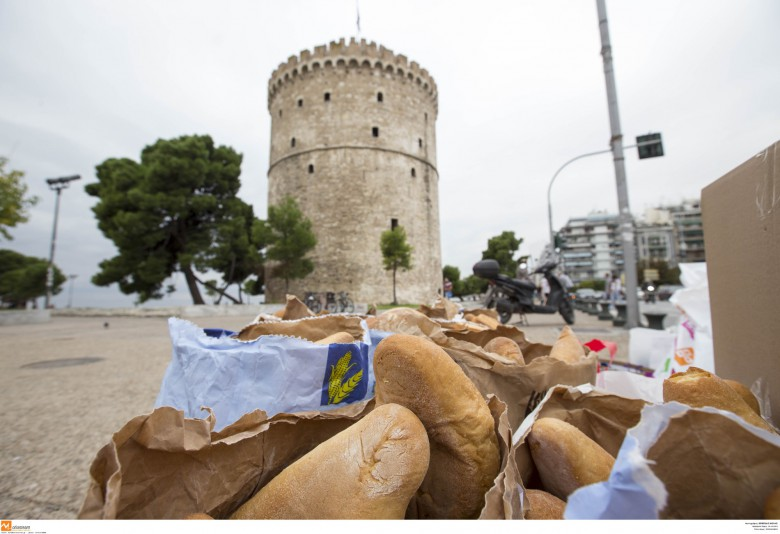 Bakers of Thessaloniki show solidarity to refugees