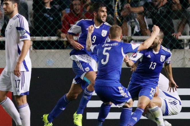 Cyprus did not make it to the play off of Euro Qualifiers