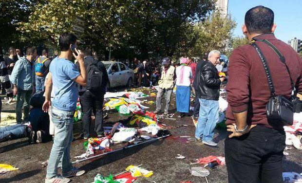 Terrorist attacks in Ankara