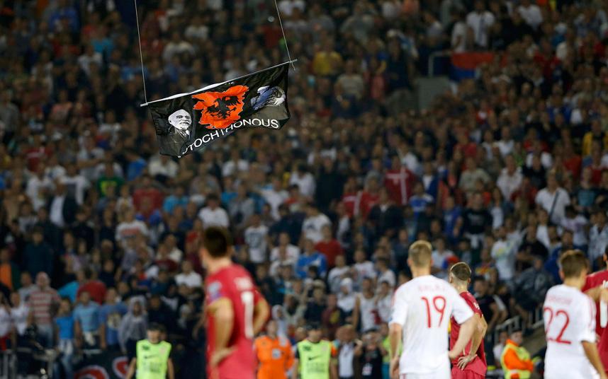 """Heat"" in Belgrade ahead to match Albania-Serbia"