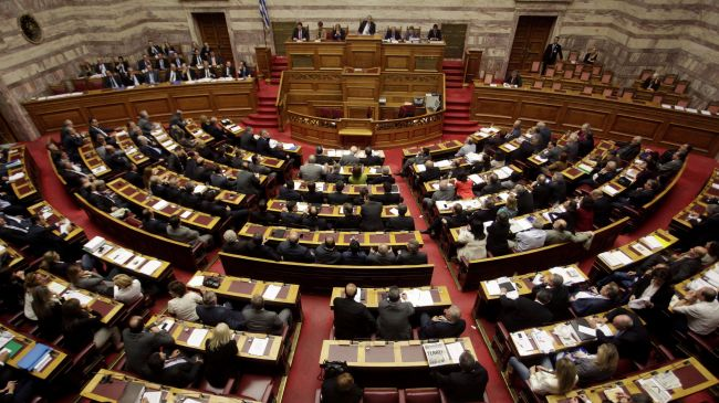 Greek Parliament grants leftist SYRIZA govt its vote of confidence with 155 votes