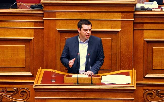 Alexis Tsipras eyes swift conclusion of first bailout review