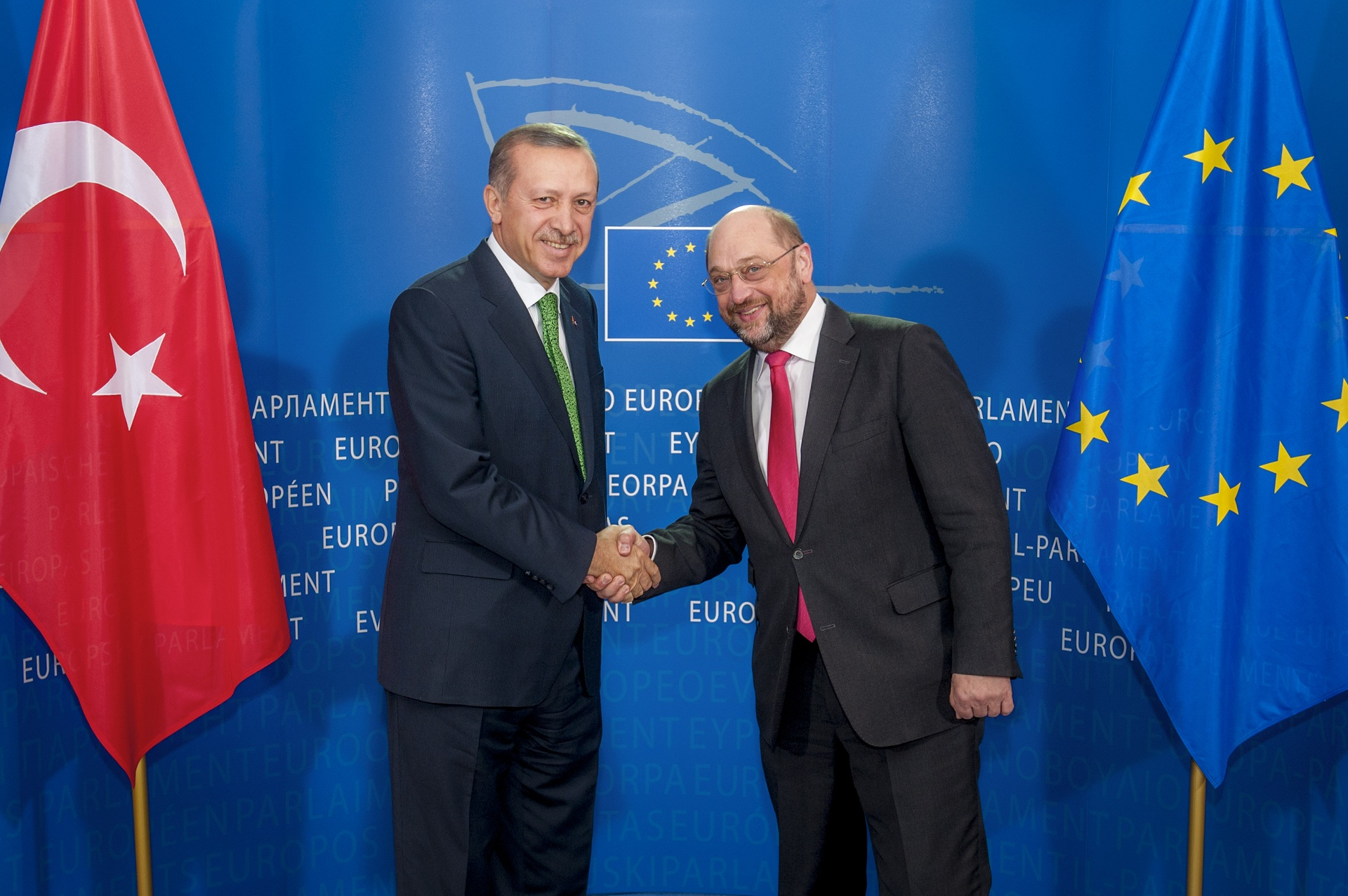 Erdogan in Brussels with migration on the table with the EU