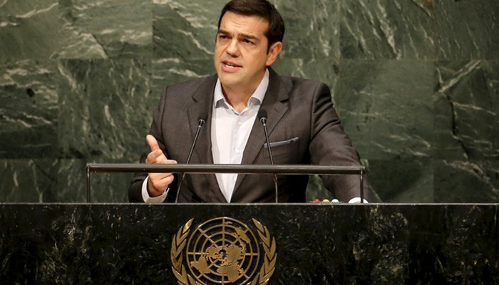 Shameful that Cyprus still remains divided, Tsipras tells UN General Assembly