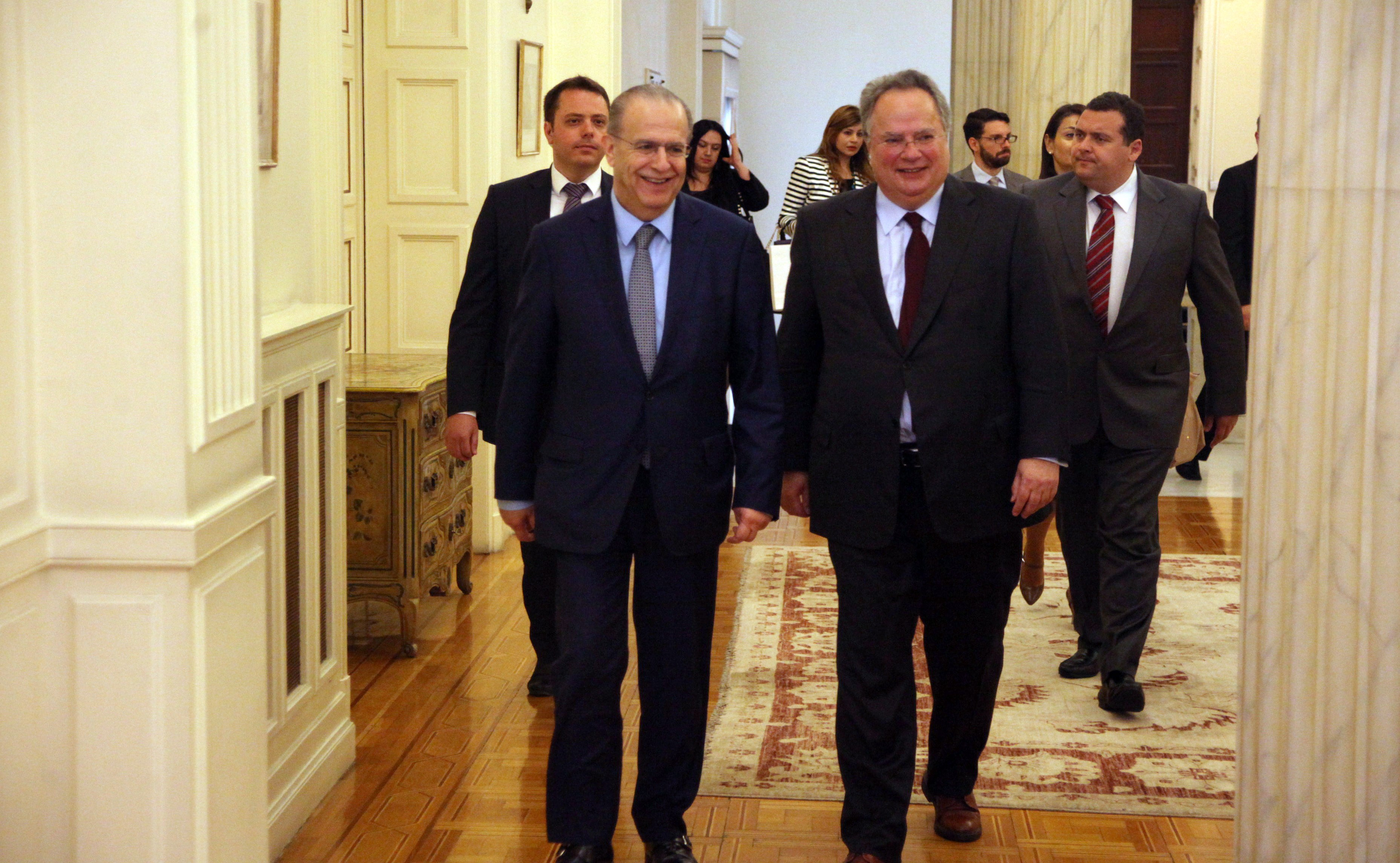 Kotzias: Greece will spare no effort until the Cypriot case is vindicated