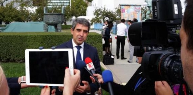 Bulgarian President Plevneliev: War in Syria must be stopped at all costs