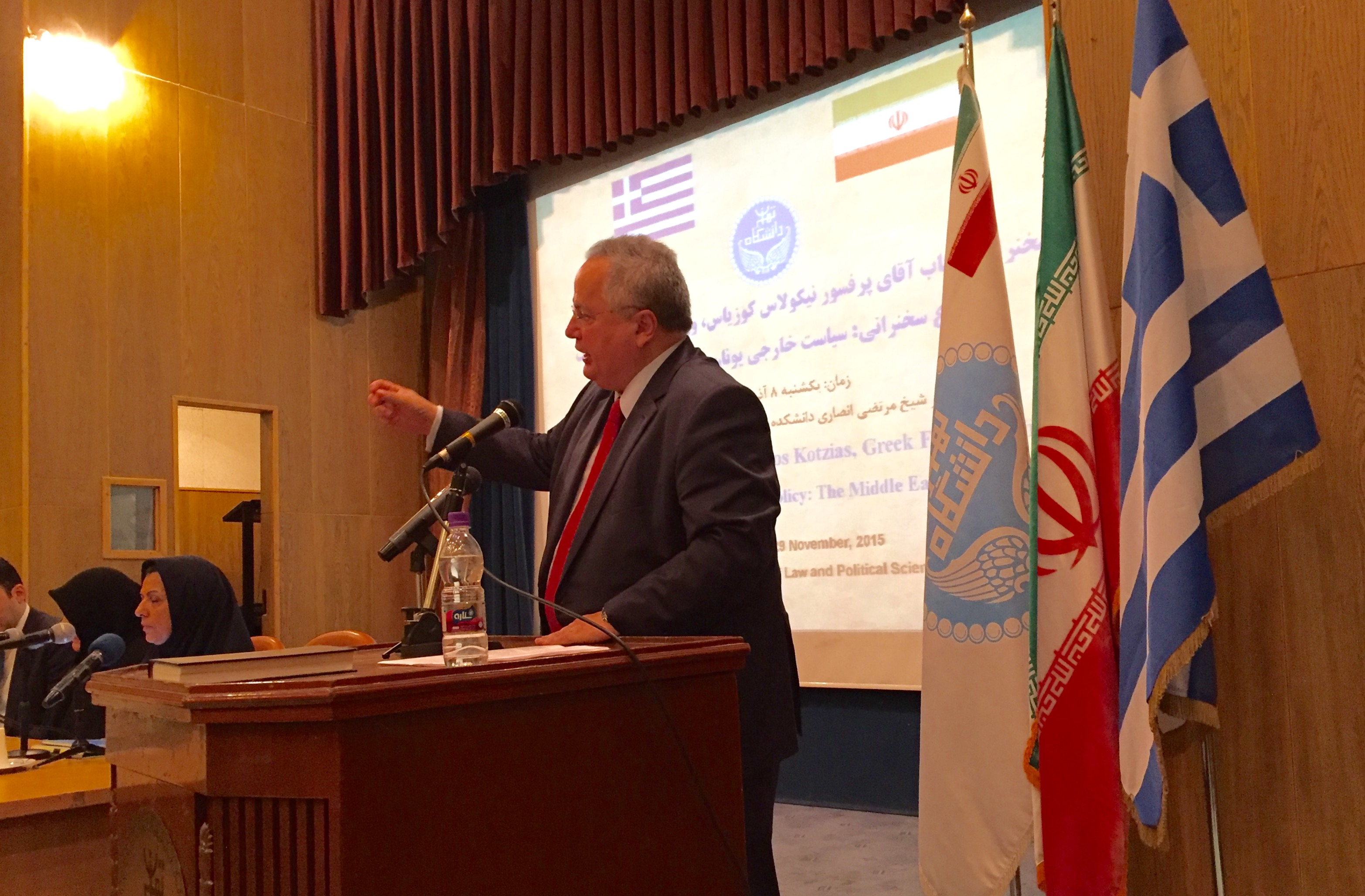 N. Kotzias: Greece can be a bridge between the West and Iran