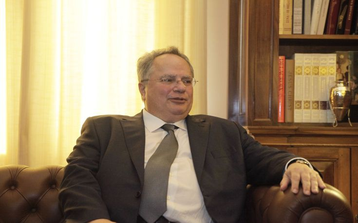 Kotzias: A solution to the Cyprus issue will open up cooperation forces between the people of Greece and Turkey