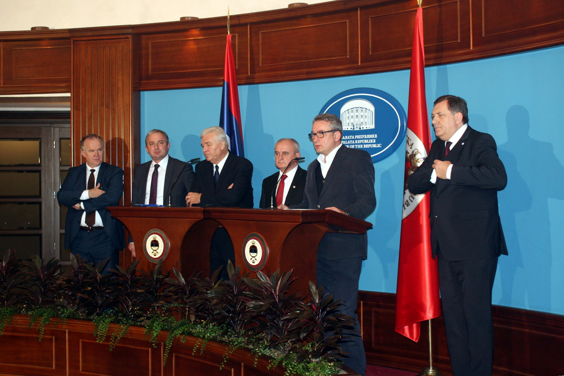 Court decision united Serb parties