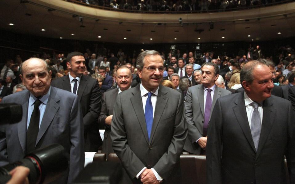 Plakiotakis holds meetings with former leaders of New Democracy