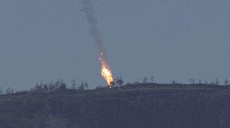 Ankara shot down russian SU-24 fighter jet