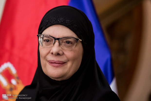 Serbian House Speaker in hijab sparks controversy