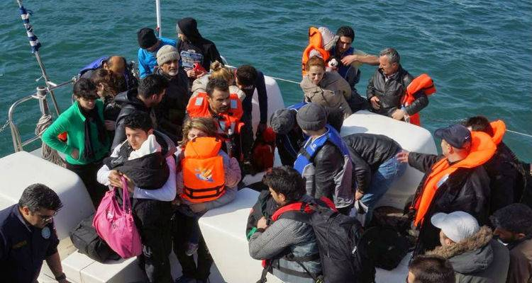 Lesbos: Zero flows of migrants and refugees