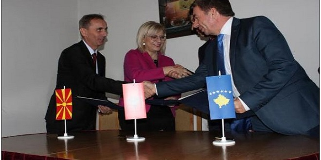 Albania, Kosovo and FYROM with a joint program for education and science