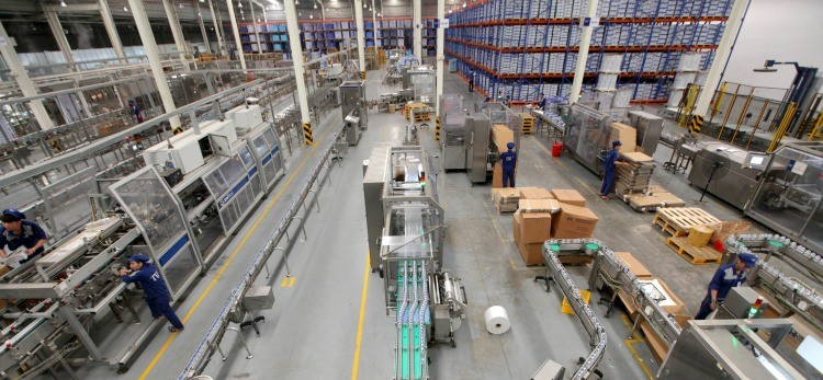 Industrial turnover down in August