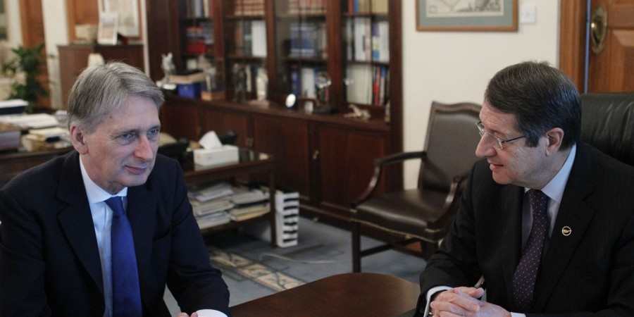 Anastasiades-Hammond discuss Cyprus problem, Turkey-EU relations and bilateral issues