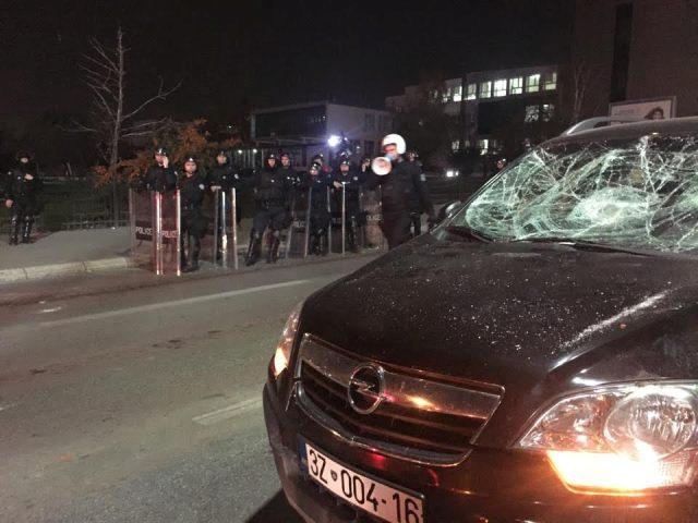 Tense situation in Pristina