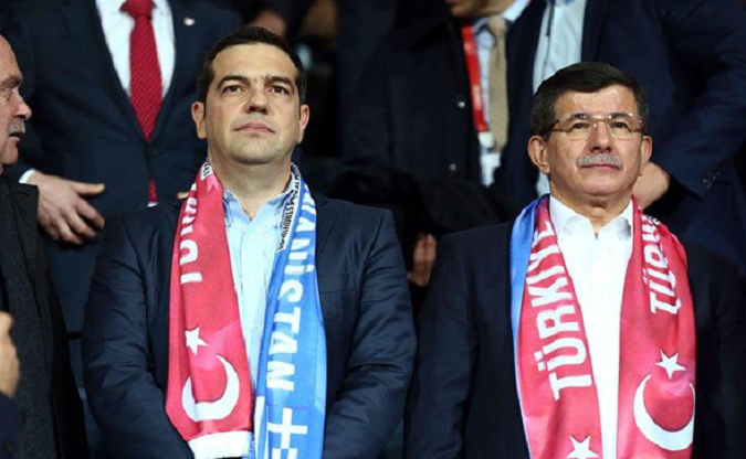 Tsipras' visit to Turkey started with football
