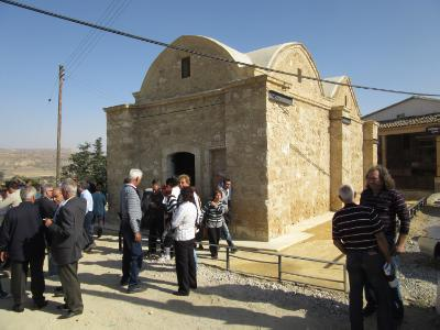 Restored Profitis Elias Church at occupied Filia opens doors anew
