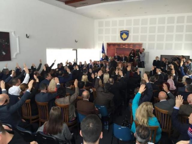Kosovo's 2016 budget  is approved under extraordinary circumstances