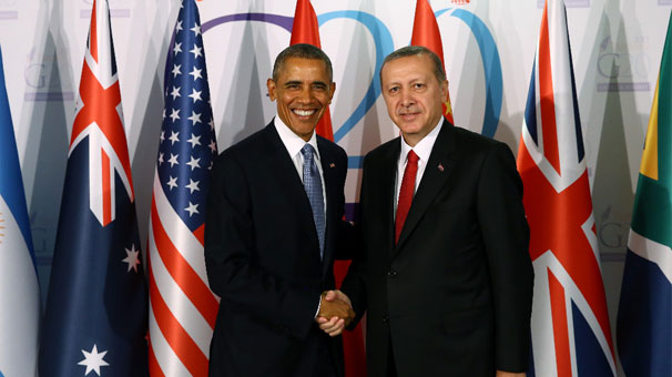 Obama-Erdogan meet in the sidelines of the G20