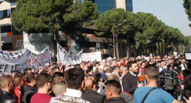 Businesses in protest against new tough measures