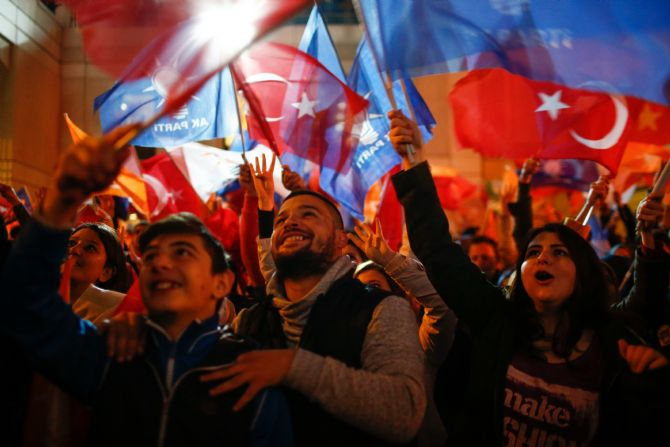 Turkish voters opted for stability and security on 1st November