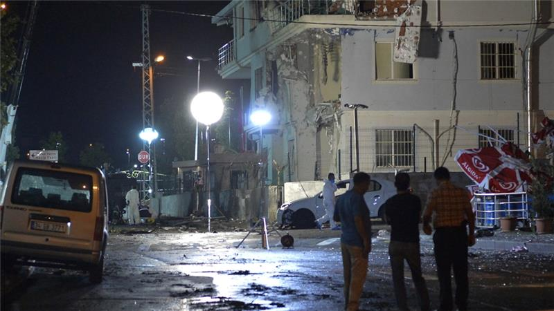 Civilian killed, police wounded in Turkey terror attack