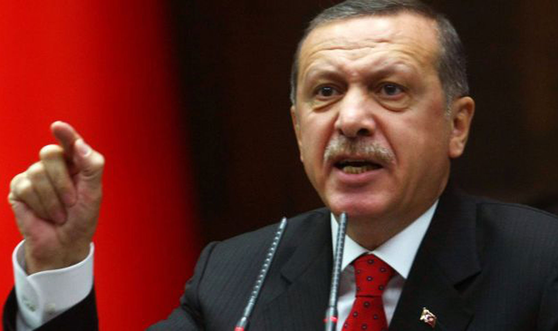 Erdogan slams int'l inaction over Syria conflict