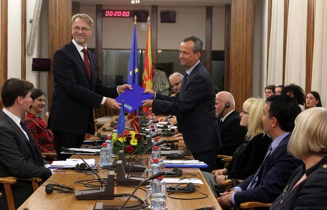 Debates in Skopje on the EU conditional recommendation