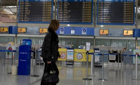 Big increase in the traffic at greek airports in the first ten months of 2015