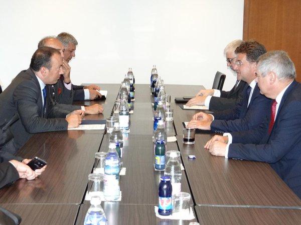 Slovak Minister Lajcak visited Sarajevo