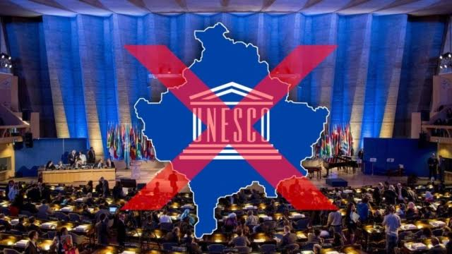 Kosovo cannot secure the necessary votes for accession in UNESCO