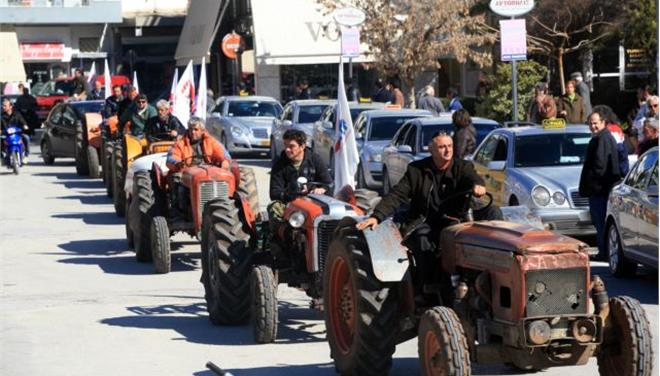 Farmers and breeders go to Athens