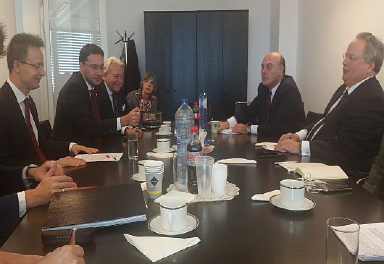 Energy, regional security on agenda as foreign ministers of Greece, Bulgaria and Hungary meet