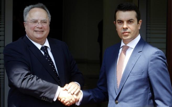 Greece-FYROM hold first round of CBM