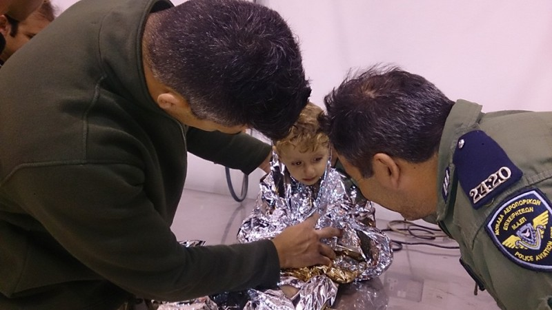 Dramatic rescue of 26 refugees in Cyprus