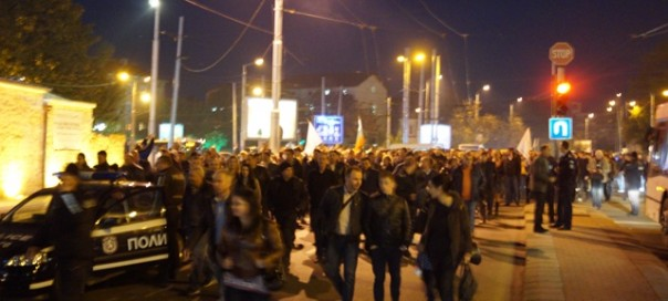 Bulgarian PM slams police protests – but government backs down on pay cuts