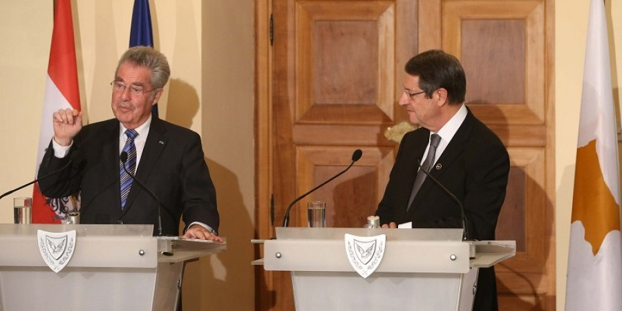 Austrian President stresses the importance of a Cyprus solution for Europe