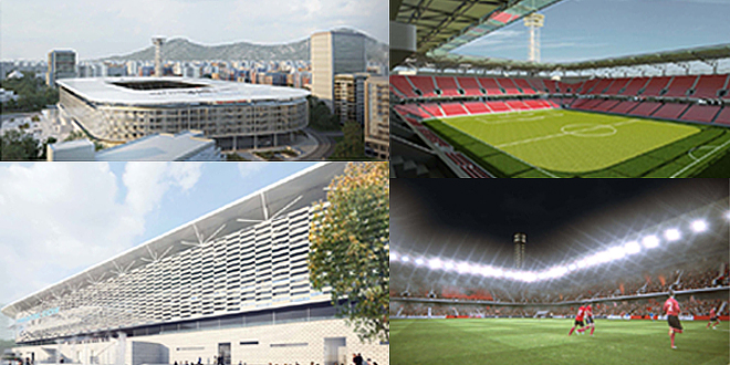 International Arena, 50 million euros for the new stadium in Tirana