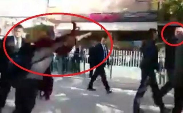 Students from Albania and Kosovo throw eggs against PM Rama VIDEO