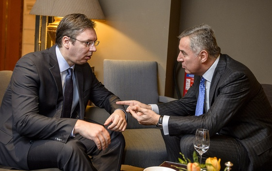 Troubled relations of Serbia and Montenegro