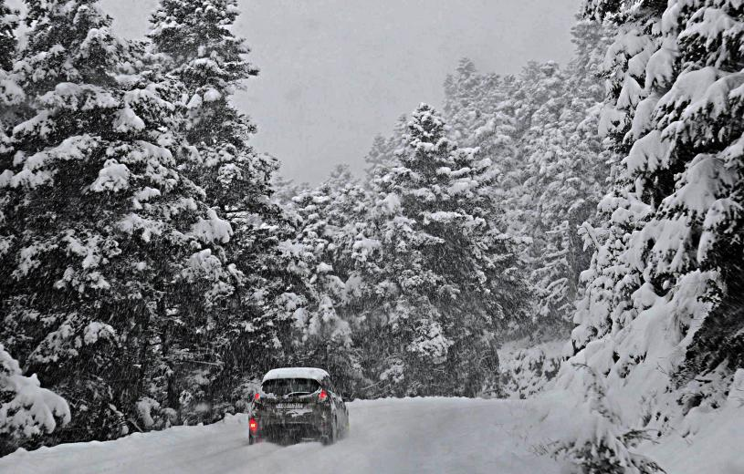 Bad weather sweeps across Albania