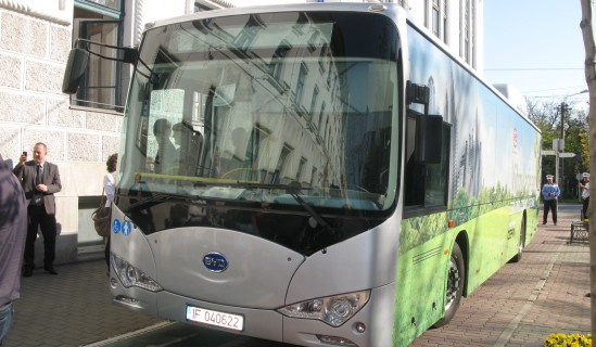Aiming for cleaner public transport in Romania